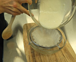homemade cream cheese recipe using yogurt