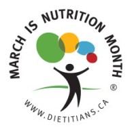 march is nutrition month logo